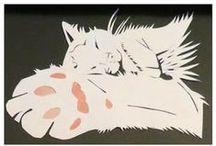 Papierkunst - Papercuts / by Spirae Art