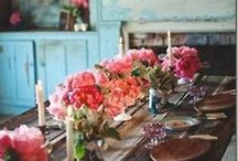 BOHO HOME / Bohemian boho home decor style. Rustic interior styling inspiration for your free spirited home.