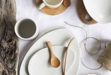 NATURAL PRODUCTS / My favourite clay, wood, ceramic, cotton, and other finds made from natural materials with organic scandi style