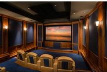 Home Theaters / Take Friday movie nights to a whole new level in these incredible home theaters!