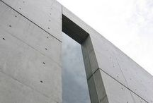 I Love Concrete / Concrete_ minimalist _Architecture_ Design_structure_modern_ Japanese_Art_Glass