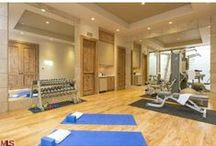 Home Gyms / Avoid the crowds and get your sweat on in the comfort of your own home!