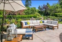 The Great Outdoors / From outdoor televisions to Zen gardens, this board is the place to look for the most beautiful outdoor living areas! / by Coldwell Banker