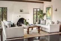 Relaxing Living Rooms / Your living room is made for living, so make it cozy, comfortable, and stylish!