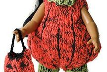 "Doll Clothes Knitting Patterns / Doll Clothes - all sizes knitting patterns (some retail). I am a Knitting Addict, other ""addicts"" connect me (Friend me) @ www.facebook.com/profile.php?id=100002455722545. I have over 20 separate boards devoted to knitting; check them all out. / by Nancy Thomas"