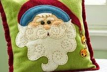 "Christmas - Winter: Sewing & Needlework / ***In order to better manage over 1,000 Christmas ""pins"", there are now 8 different Christmas themed boards (including at least 3 Christmas/Winter themed food/recipe boards) plus a ""Wreath"" board for wreaths for any season  Quilts/prims/dolls/sewing/embroidery patterns with a Christmas/Winter Theme / by Nancy Thomas"