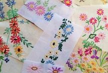 Vintage Linens Quilts Project Ideas / Ideas/projects for old textiles / by Nancy Thomas