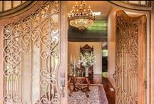 """Inviting Front Doors / First impressions are everything, so make sure your front door is saying """"welcome home!"""""""