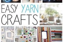 Yarn Crafts / Projects with yarn - not knitting or crocheting