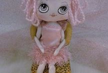 Art Doll Inspiration / Art dolls - picture inspiration from other doll designers.  Primarily pictures only; few with pattern links