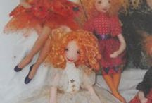 Doll Patterns and Supplies / Primarily art doll patterns (free & retail) in many styles/techniques.  Mostly cloth art dolls, but includes all materials.  Links for some doll making supplies.