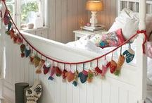 Holiday Bedroom Décor / Transform your bedroom into a cozy winter oasis by bringing holiday cheer into every corner of the room.
