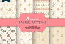 Free Patterns / Collection of free seamless patterns and backgrounds (Photoshop .pat, PNG, Vector)