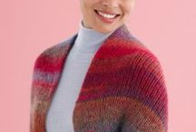 Poncho Shawl Shrug Knitting Patterns / Free & retail knitting patterns for Ponchos, Shawls & Shrugs / by Nancy Thomas