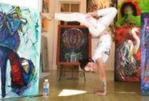 B.FOS Paintings & Chalk Art / Art by Becky Fos