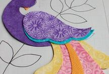 """Applique Stencils and shapes; Embroidery-Stencils; and Coloring Pages / Looking for new ideas/shapes/templates to use as patterns for applique, embroidery or fabric surface design. See relate boards """"Embroidery-Primitive Stitchery/Stitching.  All black and white embroidery stencils/templates on this board also on this board since they can serve dual purposes (Applique or embroidery stencils). / by Nancy Thomas"""