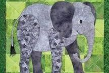 Elephants / All sewing, needle-arts, knitting and other crafts with an elephant theme. / by Nancy Thomas