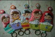 Matryoshka & Kokeshi Dolls / Patterns/projects ideas for Russian Nesting dolls & Japanese Kokeshi dolls / by Nancy Thomas
