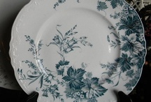 Teal Transferware / by Nancy Roberts