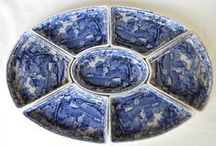 My Shop - Transferware, Antiques & Home Goods / Here you'll find some of the vast collection I offer of antique and vintage transferware, antiques, home accessories and table top items!