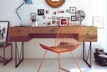 work space / by Brenna Schrimsher