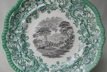 Green Transferware / by Nancy Roberts