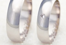 wedding rings & ring bearers