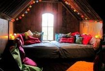 Cozy / Wonderful spaces to simply be. Ahhh. I didn't take these photos. As cozy as can be.