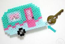 Perler Beads / Perler Bead patterns and ideas / by Rebecca Polsinelli