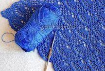 Crochet stitches / Lots of wonderful crochet stitches