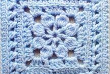 Granny squares / Interesting granny square patterns and ideas