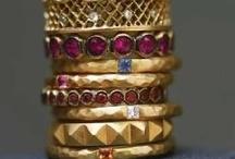 Precious Metal / Jewelry, Gems, Baubles, Buildings, Iron-work, all things metal.