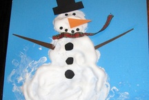 Winter Crafts / Crafts for December, January and February! Perfect for Pre-K to 1st grade!