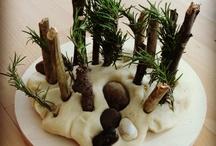 Playdough Center / Ideas for Playdough center - from homemade doughs, to mats & games!