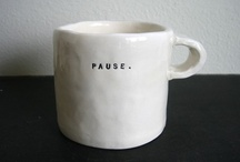 A nice cup of / by Barbara Michelle Jacobs Jewelry