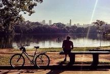 {bustling São Paulo} / A city that's always on the run, but never forgets to relax . ..