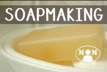 DIY | Soapmaking / Make your own soaps with the ideas from all over the web. Check out other preparedness topics on my main board: www.pinterest.com/momwithaprep / by Jane @ Mom with a PREP