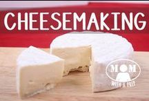 FOOD | Make Your Own Cheese / Make your own cheeses, art of cheesemaking, do it yourself dairy products. Curated for you by MomwithaPREP.com / by Jane @ Mom with a PREP