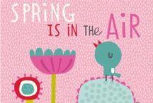 Spring is in the air! / voorjaar, pasen, bloei, vrolijkheid