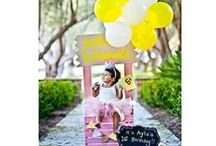 Pink Lemonade Party / Pink lemonade birthday party or shower idea 1st birthday baby girl