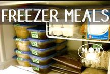 FOOD | Freezer, Make Ahead, Bulk Cooking, OAMC / A group board for cooking recipes to help stock our kitchens. Please leave a message to join the group! Please pin only relevant pins. food, make ahead meals, freezer cooking, bulk cooking, OAMC, once a month, once a month cooking / by Jane @ Mom with a PREP