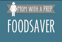 Food Saver Tips & Ideas / Unique ways you can put your vacuum sealer to work for you! vacuum sealer, food saver, seal a meal, seal-a-meal, preserving foods, freezing food, store food, store chocolate, dry canning,  / by Jane @ Mom with a PREP