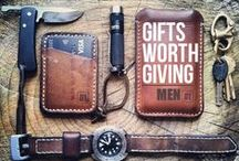 ideeën mannencadeau's / Moeite met cadeautjes kopen voor een man? Hier zijn wat ideeën. Doe je voordeel er mee...:)