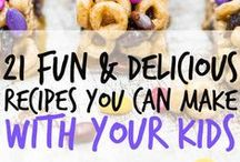 Food:  Cooking with Kids / by Cindy Mingle