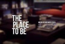 Milan Design Week 2015 #placetobe