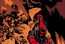 Hellboy / Such a cool comic book / by David Lawrence