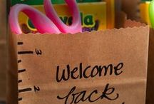 Back to school / Back to school classroom inspiration. Student gifts, bulletin board ideas, and classroom organization to start your year off right!