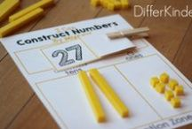 Math Stations / Ideas for activities and organizing math stations / by Marsha McGuire (Differentiated Kindergarten)