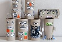Crafts and Art For Kids / Fun ways to bring a little art and some crafting into the classroom. Art ideas for the classroom with art centers, favorite art materials, and great art activities for your elementary classroom.