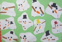 Winter / Fun activities, crafts, holiday celebration ideas all for winter in the classroom. Find unit study ideas and free printables for winter